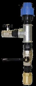 Узел Подключения Системы Автоматического Полива к источнику воды